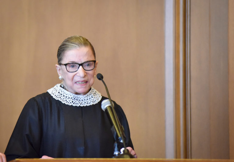 "After receiving three weeks of radiation – which causes cancer – Ruth Bader Ginsburg now claims to be ""cancer free"" – a status the cancer industry says does not exist"