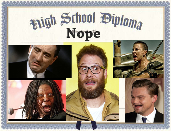 Climate Change Lies from Famous Hollywood High School Dropouts