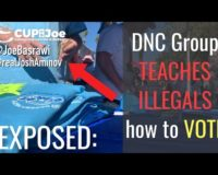 Busted: DNC Group Caught on Video Teaching Illegals How to Vote