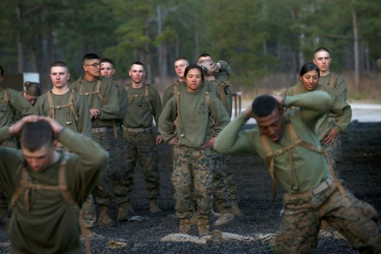 Hidden in New NDAA: Thanks to Jackie Speier, Marine Co-Ed Boot Camps Are Now Reality