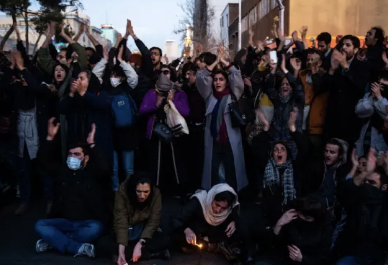 """""""You Killed Our Geniuses"""" – Regime Crackdown Intensifies As Iranians Flood Streets In Third Day Of Protest"""