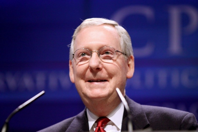 McConnell has the votes to shut down the Democrat impeachment