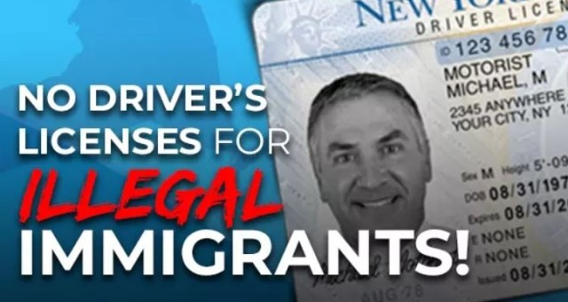 Homeland Security Chief Orders Review of State Laws Allowing Driver's Licenses for Illegals!!