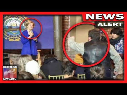 """You're Siding With Iran"" Watch Liz Warren Get Called Out By Angry Patriot in New Hampshire"