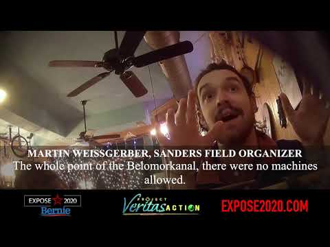 Project Veritas Strikes Again! 2nd Bernie Staffer Calls for Violence