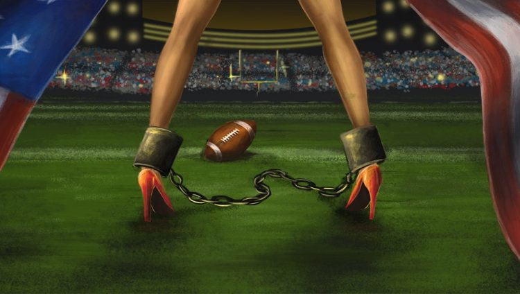The Super Bowl's Biggest Losers: The Boys And Girls Being Sold For Sex 20 Times A Day