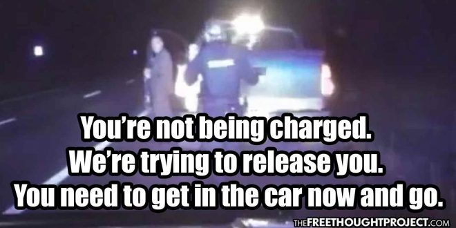 'You're Not Being Charged': Cops Let Wasted Drunk Driving Police Captain Go
