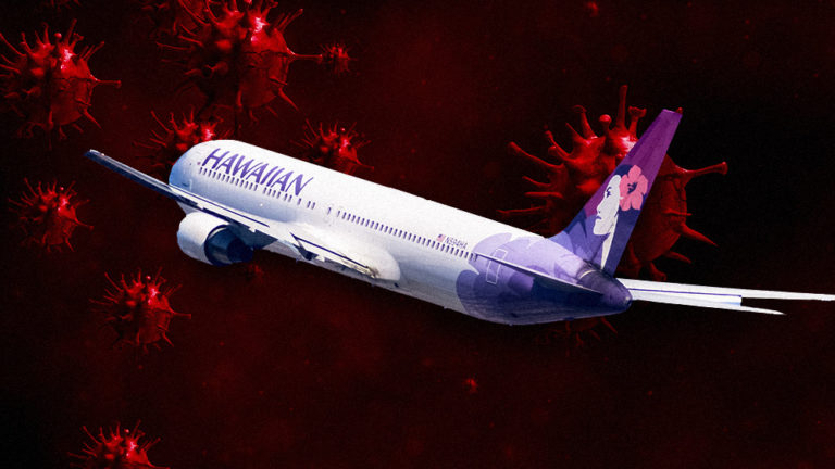 Infected Coronavirus passengers flew Delta and Hawaiian Airlines out of Honolulu