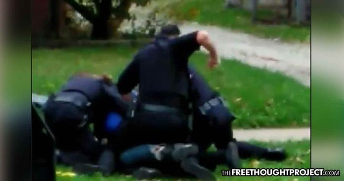 OHIO: Watch Cops Stop Veteran with PTSD for No Reason, Savagely Taser and Hit Him Over 30 Times