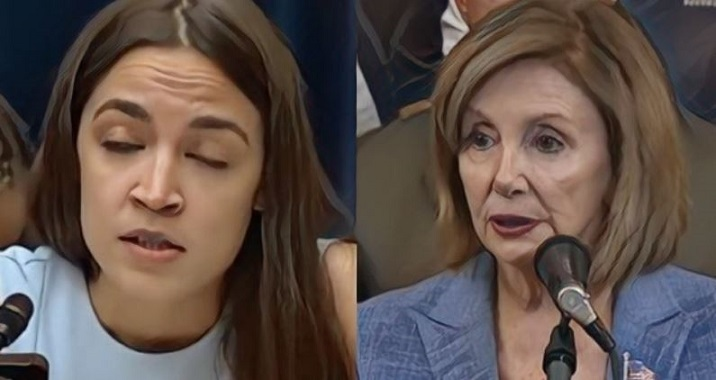 "AOC Cornered After Top Dems Call Her ""A Loser"", ""A Nobody"" and ""Complete Fraud"""