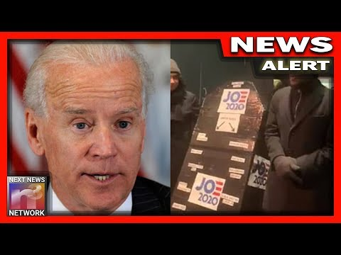 "Must See Video! New York Greets Joe Biden with Chants of ""Drop Out Joe"" & Eulogizes His Campaign with Faux Funeral"