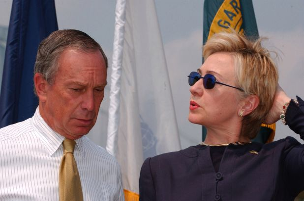 Bloomberg Says He is Considering Asking Hillary Clinton to be His Running Mate