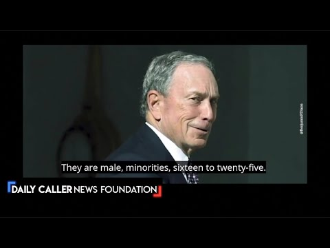 "Bloomberg Done! Old Footage Exposes Him as a ""Racist"" — Is He?"