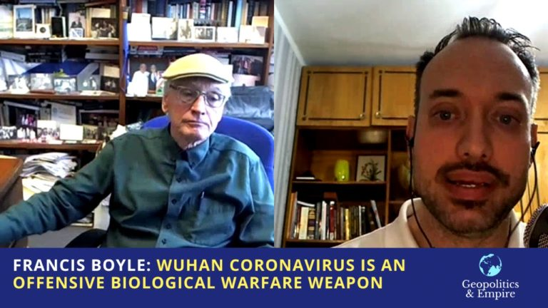 Dr. Francis Boyle, Creator of US Bioweapons Act, Claims Coronavirus is a Biological Weapon