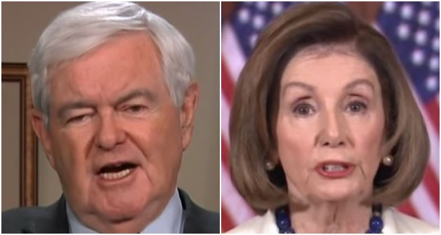 Newt Gingrich Calls on Congress To Punish Nancy Pelosi for What She Did at State of the Union — Here's How They Will Do It