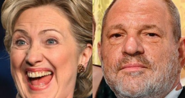 Hillary Defends Donations From Convicted Rapist Harvey Weinstein