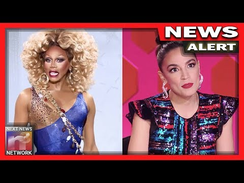 """""""I Pledge Allegiance to the Drag"""" Queens – AOC's New Part Time Job Proves She's Not Fit For Congress"""