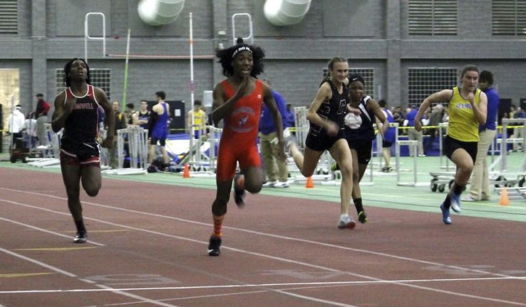 Biological FEMALE Defeats Biological MALE at Connecticut State Girls Indoor Track and Field Championships