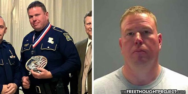 """""""Trooper of the Year"""" Arrested for Producing Child Porn, Distributing It to His Own Network"""