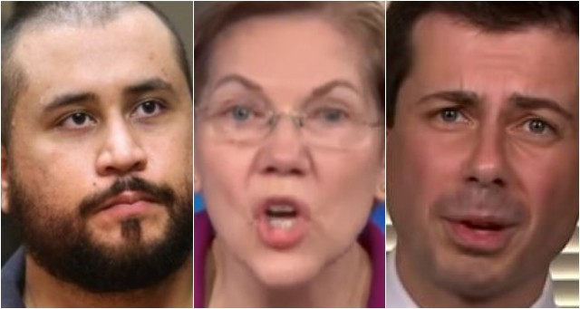 George Zimmerman Files $265M Lawsuit Against Elizabeth Warren And Pete Buttigieg