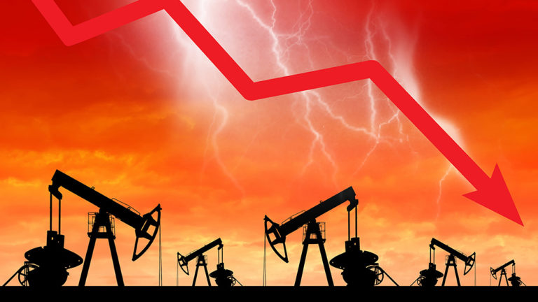 Oil wipe out sees prices plunge -220% to -$37 / barrel… ECONOMIC WARFARE has been unleashed against America
