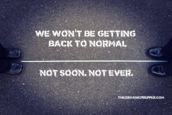 "We Won't Be Getting ""Back to Normal."" Not Soon. Not Ever."