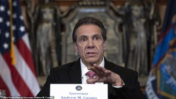 BUSTED: Gov. Andrew Cuomo Stockpiled Thousands Of Unused Ventilators