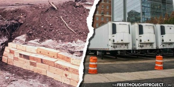 New York Post: Refrigeration Trucks Arrive To Hold Bodies As Prisoners Start Digging Mass Graves In New York