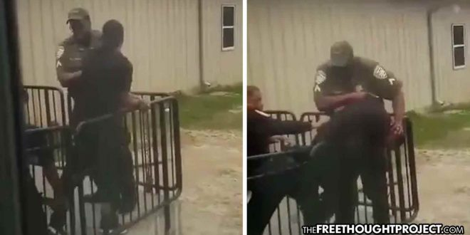 WATCH: Cuffed Man Tells Deputies He May Have COVID-19, So They Choke Him Unconscious