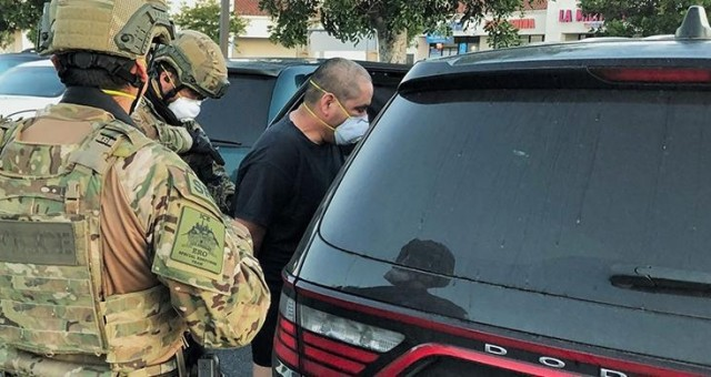 """ICE """"Most Wanted"""" Fugitive Captured In California"""