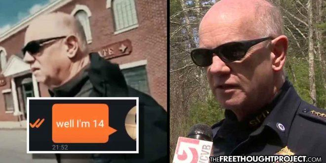 "Massachusetts: ""Pedophile Hunter"" Catches Police Chief Trying To Have Sex With 14-Year-Old Boy (Video)"