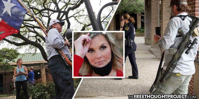 Texas: Armed Supporters Show Up To Guard Dallas Salon Defying COVID-19 Stay-At-Home Order