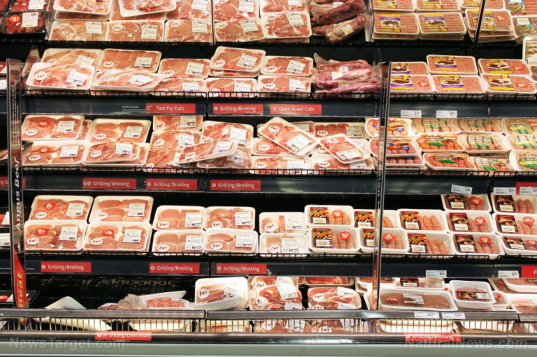 """As meat shortages accelerate, clueless grocery shoppers are buying up genetically modified, chemically-laced artificial processed meat that's """"greenwashed"""" to sound healthy"""