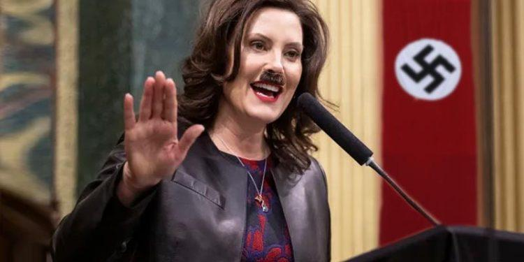 Gretchen Whitmer Becomes Ms. Hitler: Michigan State Police Spying On Innocent Citizens