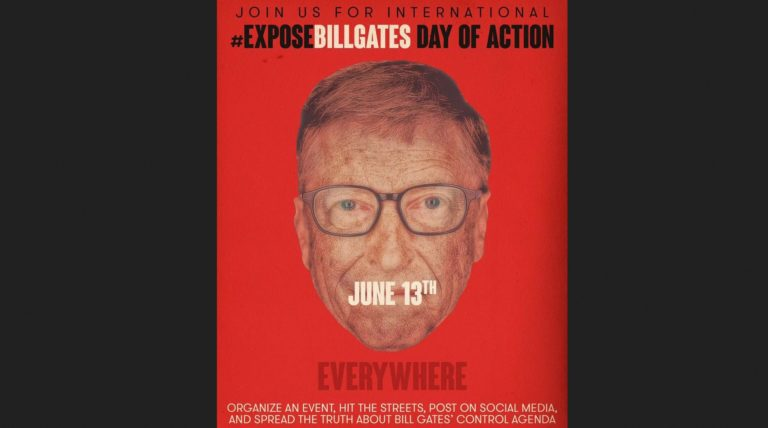 Announcing #ExposeBillGates Global Day of Action on June 13, 2020