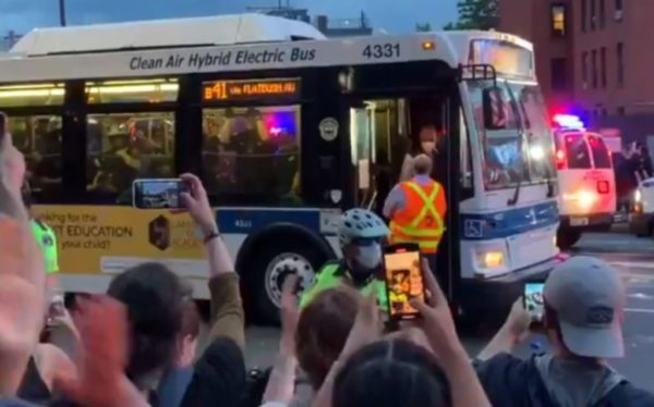 Bus Drivers Across The Country Refusing To Transport Arrested George Floyd Protesters To Jail