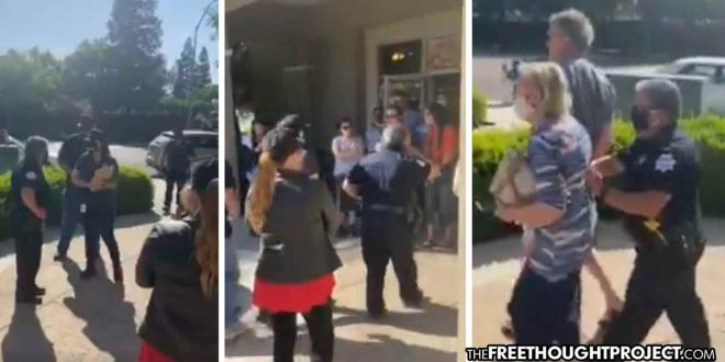 WATCH: Fresno Cops Assault Innocent People, Arrest Mother's Day Diners at 'Illegal' Restaurant