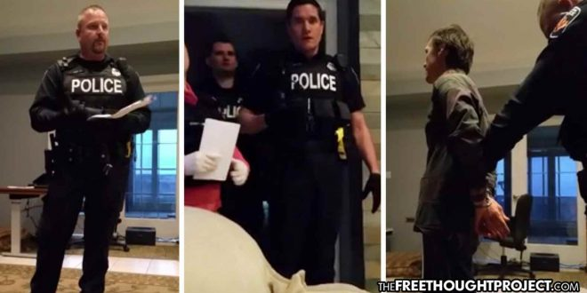Extremely Disturbing Video Shows Cops Kidnap Couple Over Peaceful Anti-Gov't Views