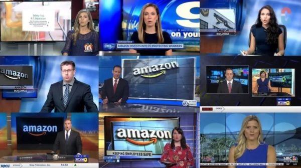 At Least 11 Local News Stations Caught Airing The Exact Same Amazon Propaganda Segment