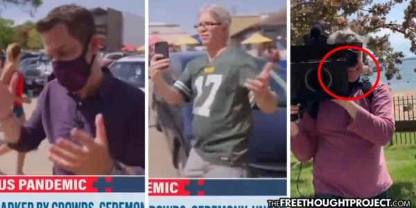 """MSNBC Reporter Speechless After He's Owned for """"Mask Shaming"""" People As Crew Has on No Masks"""