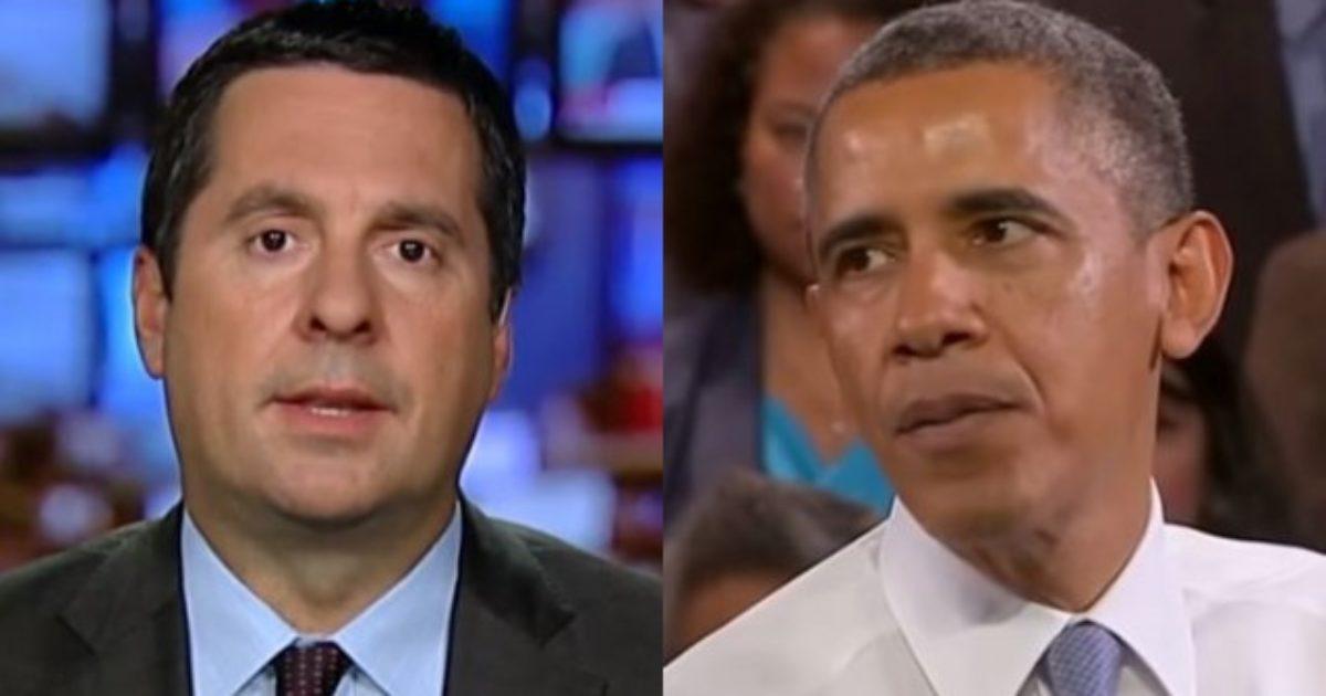 Nunes To Make 8 Criminal Referrals- All Obama Admin - DC Clothesline