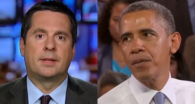 Nunes To Make 8 Criminal Referrals- All Obama Admin