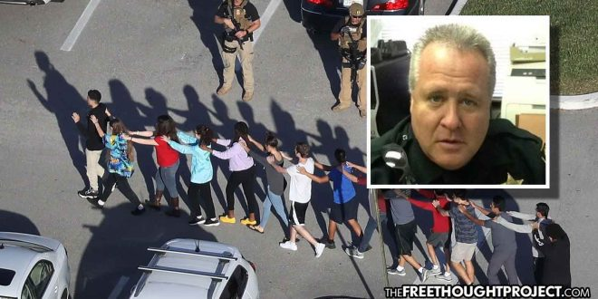 Cop Fired for Cowering in Car as Gunman Slaughtered Children Gets Job Back, with Back Pay