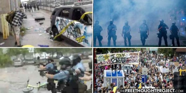 Minneapolis: Protesters Attack Police Station, Patrol Cars After Cops Killed Man in Graphic Video
