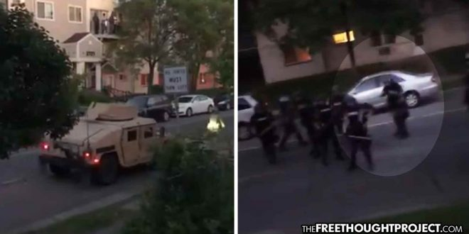 'Light em Up!' Military and Police Open Fire on Innocent People in Their Own Home