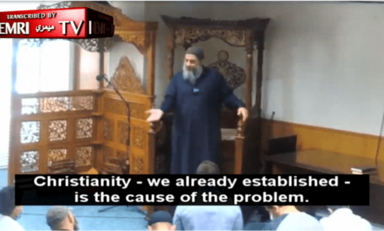 Miami Imam Dr. Fadi Yousef Kablawi Blames Christianity For Looting In America