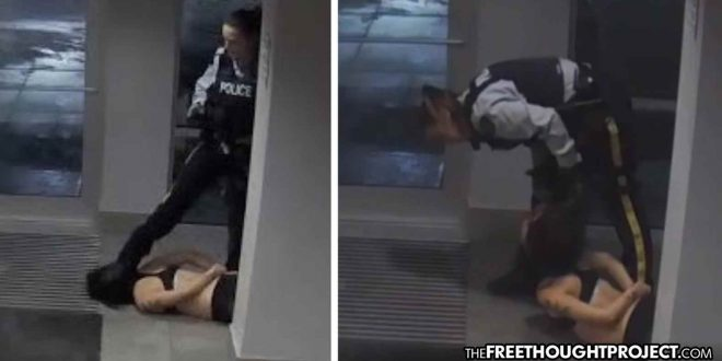A Nursing Student Needed Help But Cops Showed Up Instead and Cuffed, Kicked, Stomped Her