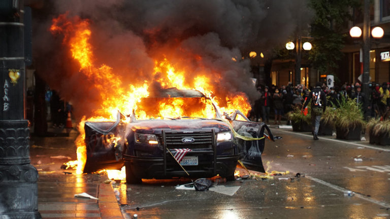 An Eye-Witness's Shocking Account of What's REALLY Happening During the Seattle Riots