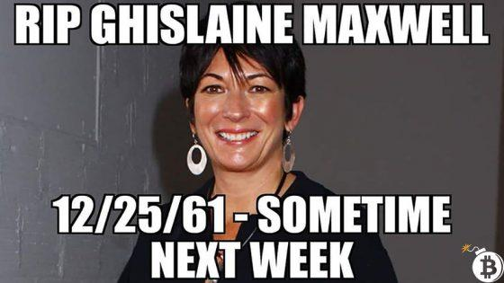 Dead Men Tell No Tales: Epstein Didn't – Will Ghislaine Maxwell?