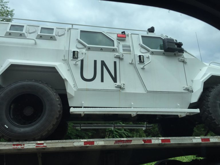 Right on schedule, the United Nations is intervening in U.S. domestic affairs, claiming Trump has no right to defend cities against left-wing terrorists